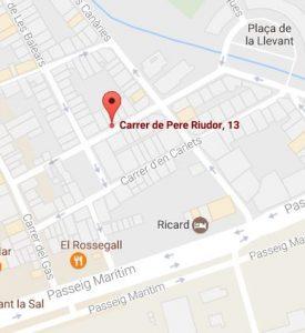 Carrer de Pere Riudor, 13, 08800 Vilanova i la Geltrú, Barcelona