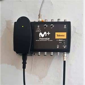 Amplificador Parabólicas Madrid