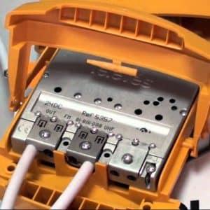 amplificador de mástil televes