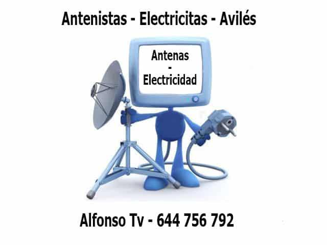 antenas electricidad aviles