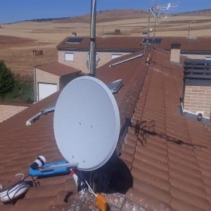 Antenas parabólicas Salamanca